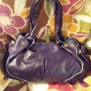 B Makowsky Leather Tote Conceal Carry